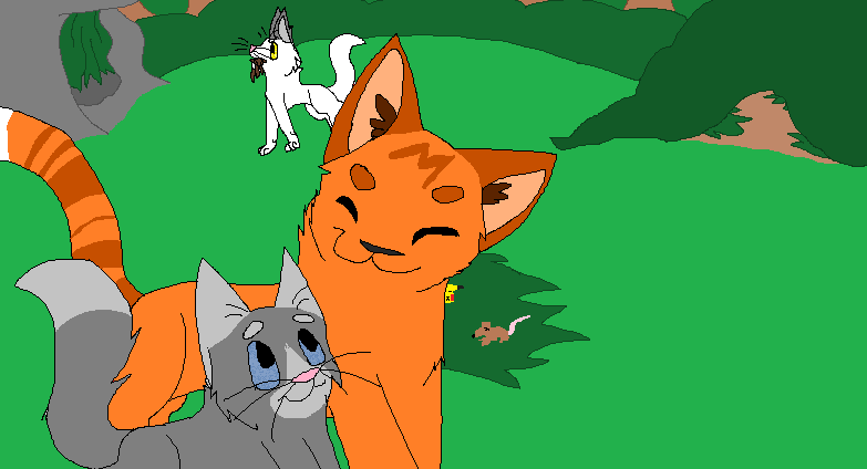 Cinderpaw and Fireheart 2 0 by ducksgonnaduck985Fireheart And Cinderpaw