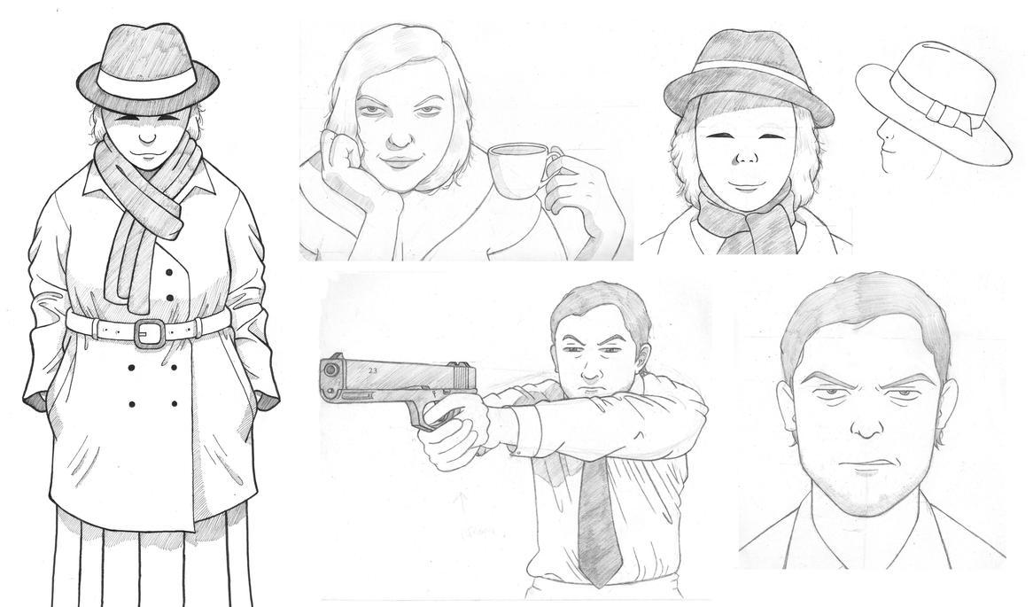 Ganzfeld Sketchdump (#1) by C5Jones