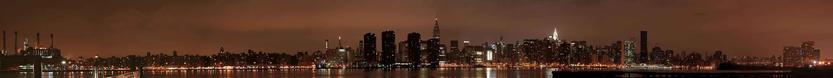 Manhattan Panorama by TheCSJones