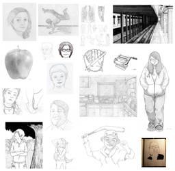 Drawing Dump: 2012-2014 by TheCSJones