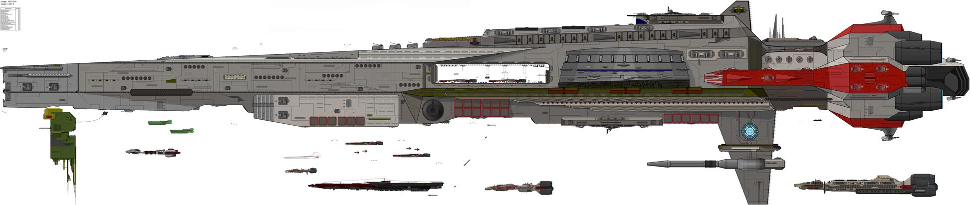 Really Really Big SpaceShip by DJBIG