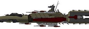 Flenser Class Escort Frigate by DJBIG