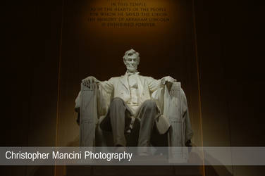 Solemn Lincoln by DJBIG