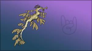 Virtual Events 1.0 Release Mascot: Leafy Seadragon
