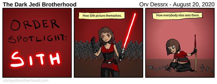 Dark Jedi Brotherhood Comic - 010
