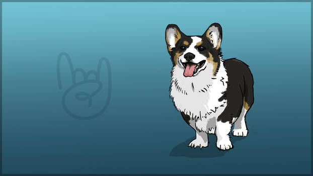 Filter Bar 5.0 Release Mascot - Corgi named Tofu