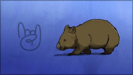 TEC Release Mascot - Wombat