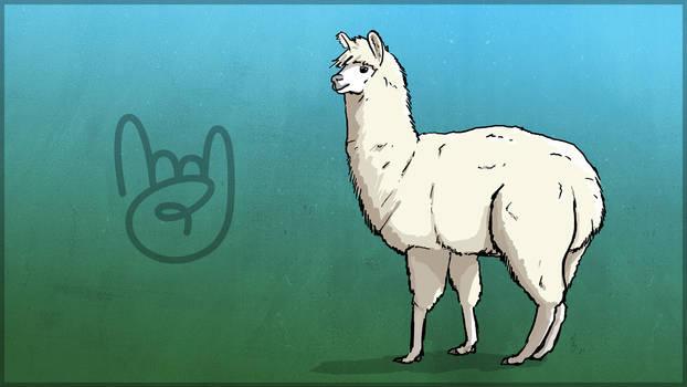 TEC Release Mascot - Alpaca