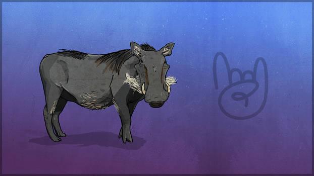 TEC Release Mascot - Warthog