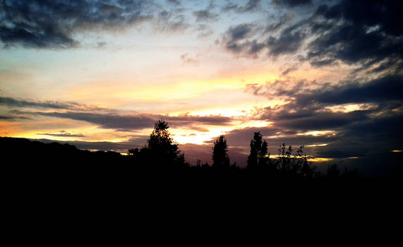 Kidsgrove At Sunset 2