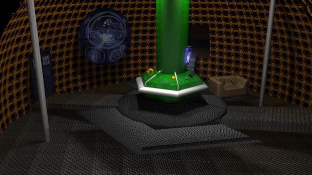 TARDIS interior -UNFINISHED-