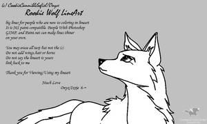 Rookie Wolf Lineart