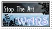 Stop The Art Wars Stamp: 2 by CookieCannibleSofiel