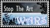 Stop The Art Wars Stamp: 2 by CookieCannibleSofiel
