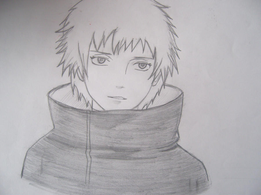 Sasori From Naruto Hand Draw By Izunafangirl On Deviantart