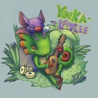Yooka-Laylee by Artsenseiofdreams