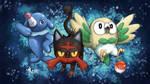 Aloha Gen 7 Pokemon Starters!