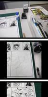 Svet Set Loose in Manga School