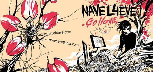Go Home NAVEL4EVE album cover by svetlania