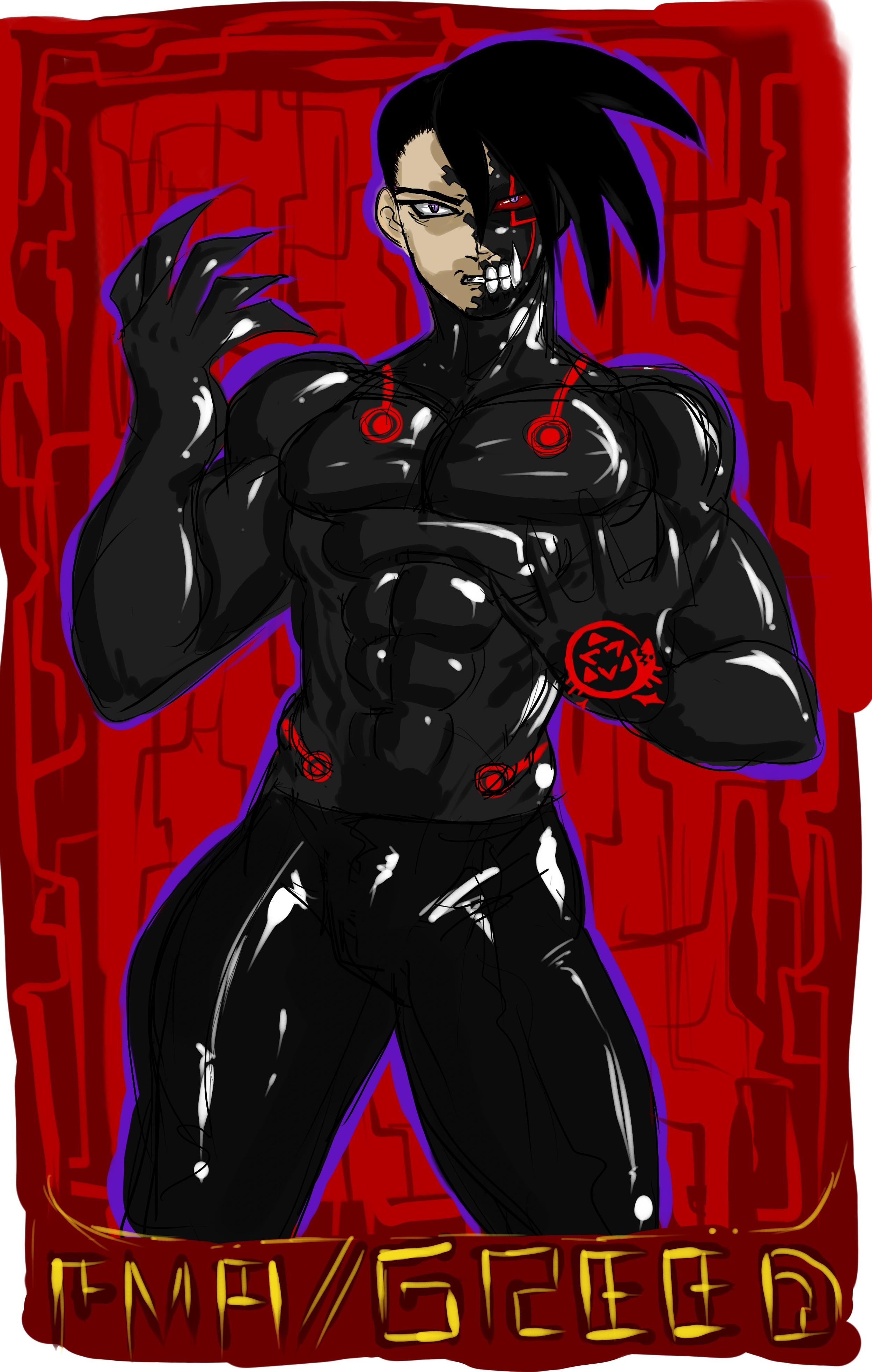 Greed-Ling Fullmetal Alchemist (Armor) by LorGistamanRakk ...