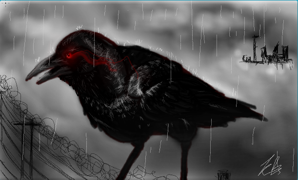 Evil crow wallpaper - photo#5