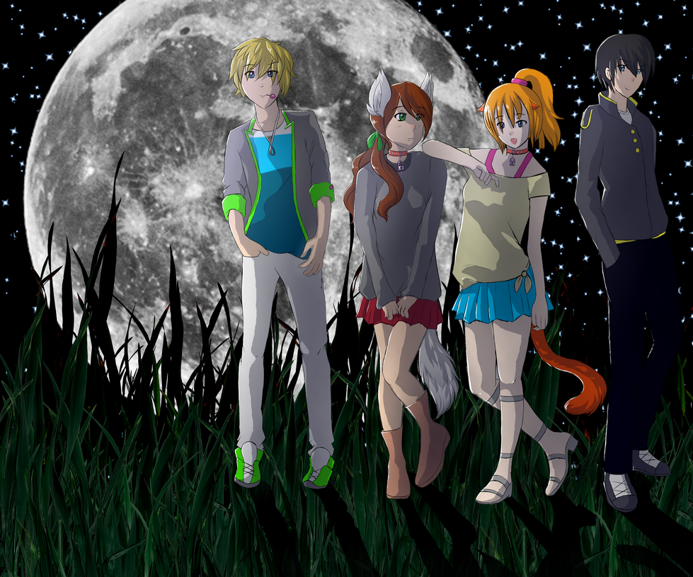Animation group photo by Howling-Okami