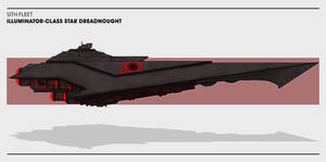 Sith Fleet: Illuminator-class Star Dreadnought