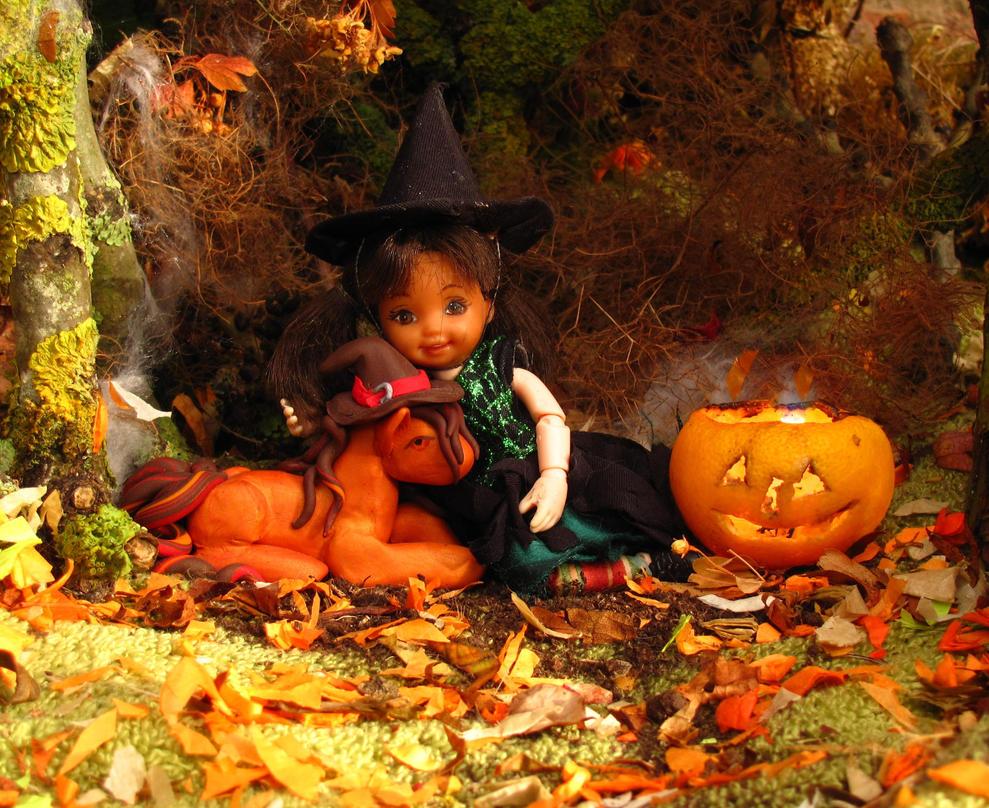 Happy Halloween and a very Blessed Samhain by Okarnillart