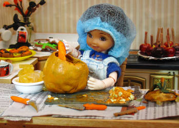 Pumpkin Time! by Okarnillart