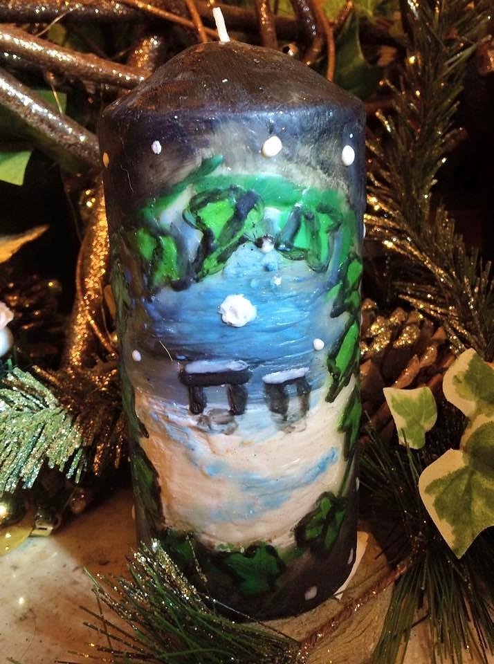 Yule Candle 1 by Okarnillart
