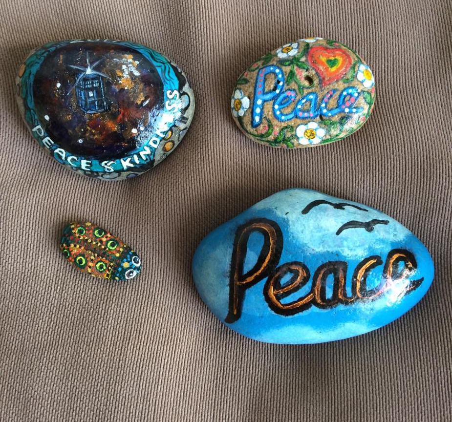 Kindness Rocks Drop a Rock day by Okarnillart