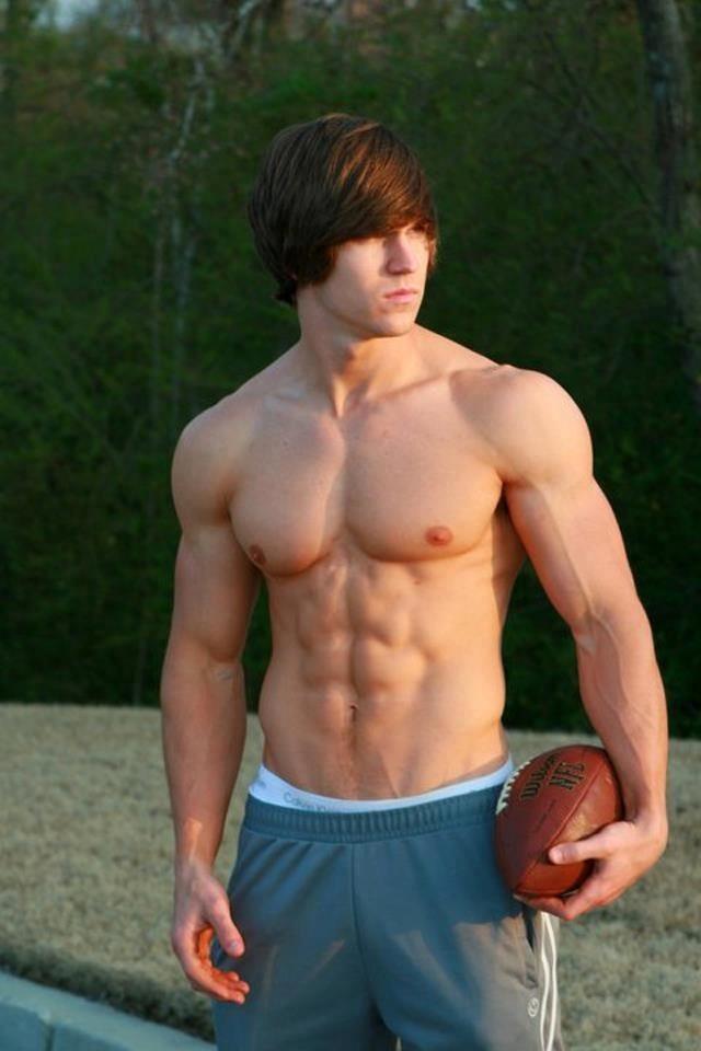Football International From Skinny Teen 6