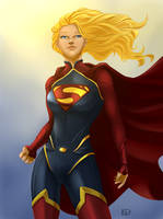SuperGirl 2015 by EstelaGaona