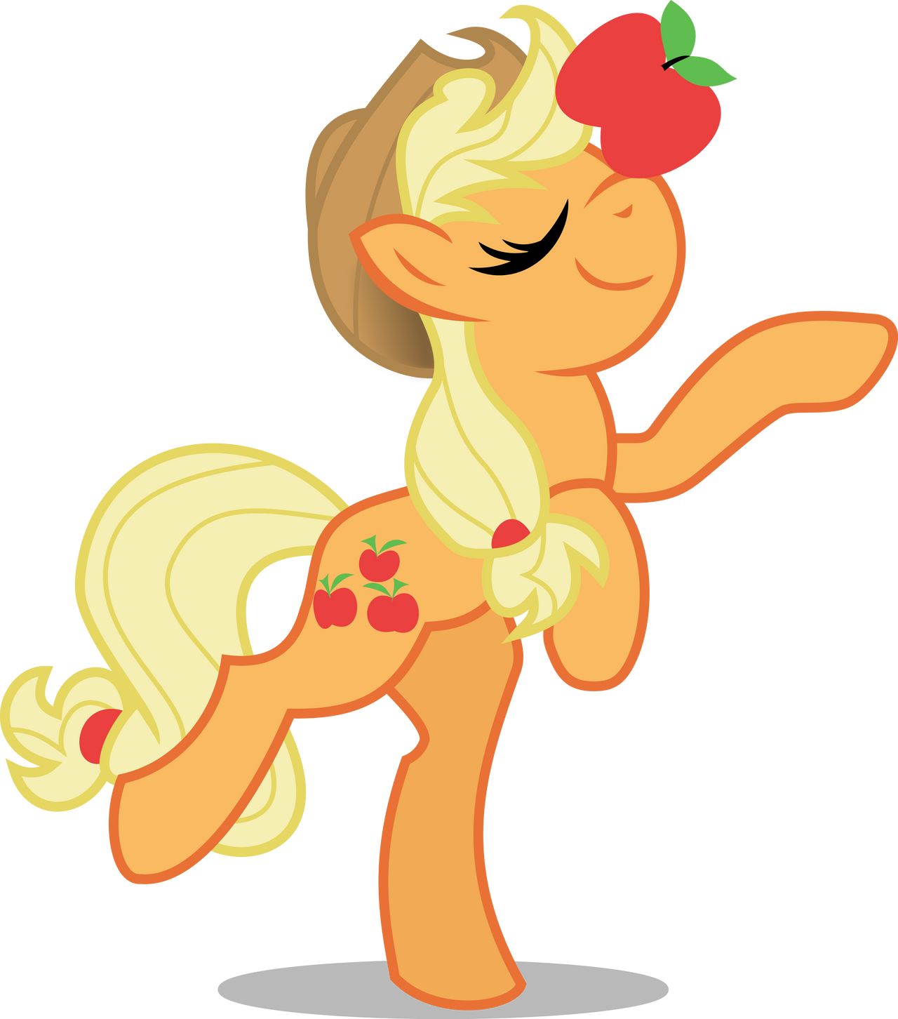 AppleJack - honesty, and balance! by CaNoN-lb