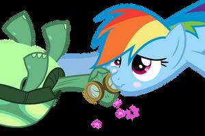 RainbowDash Cheeklove! by CaNoN-lb