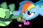 RainbowDash Cheeklove!