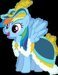 Rainbow Dash in Coronation Dress