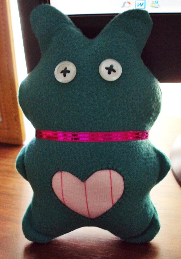 Green Bunny by ButtercupJAP