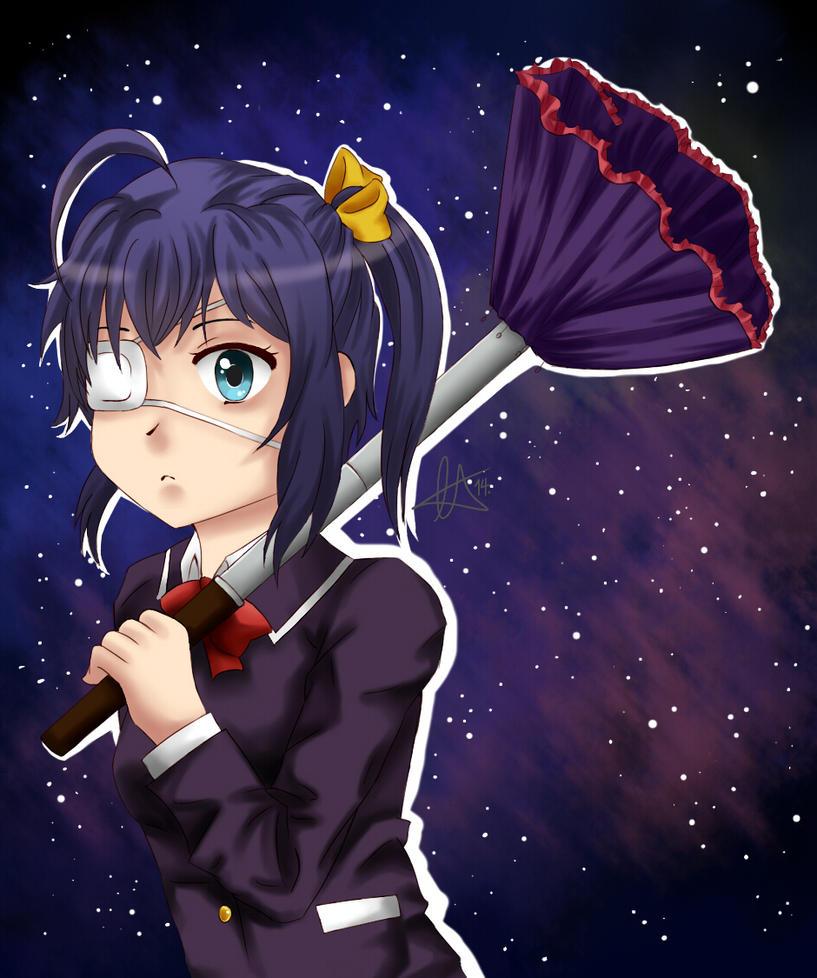 Takanashi Rikka by cherutan
