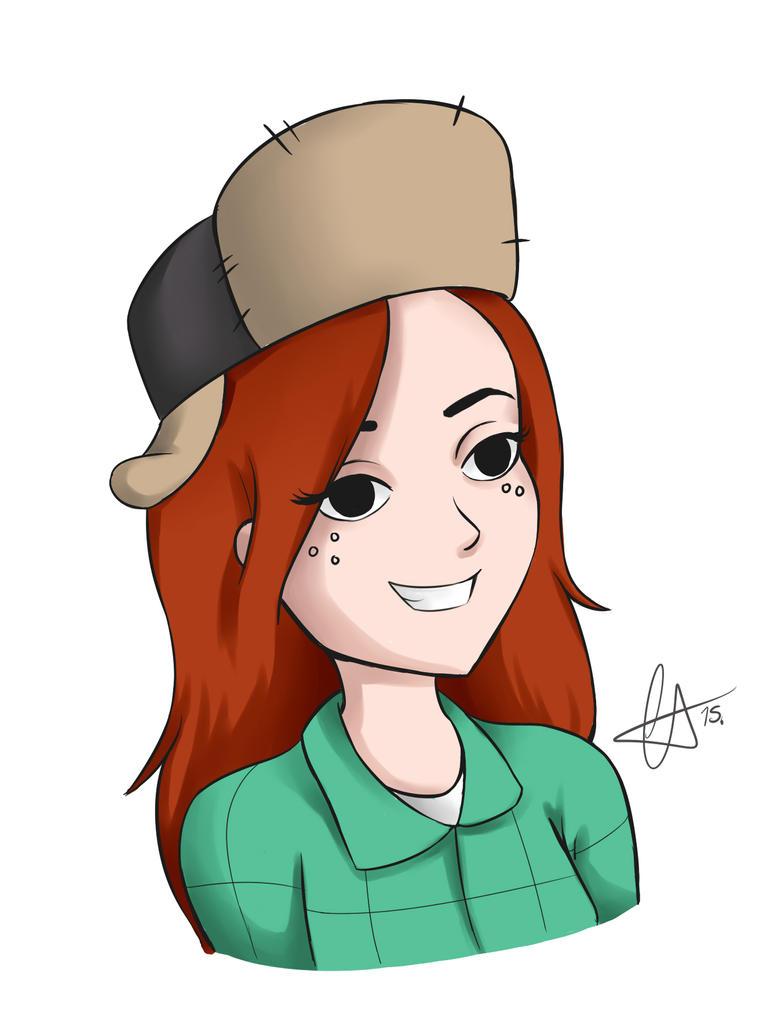 Wendy - Gravity Falls by cherutan