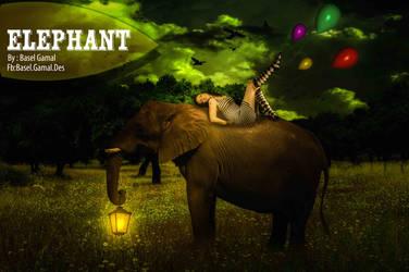 Elephant Design by BaselGamal