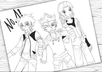 Team Dungeon for Hikazu :D by Saoto