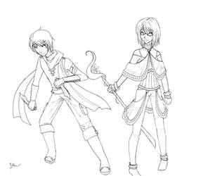 Golden Sun Character Designs