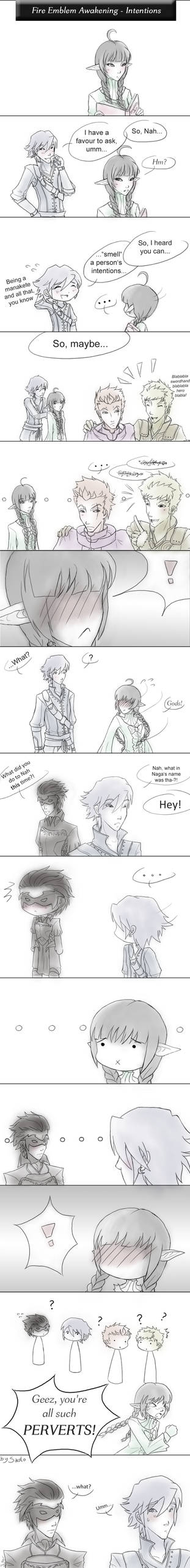 Fire Emblem Awakening:  Intentions