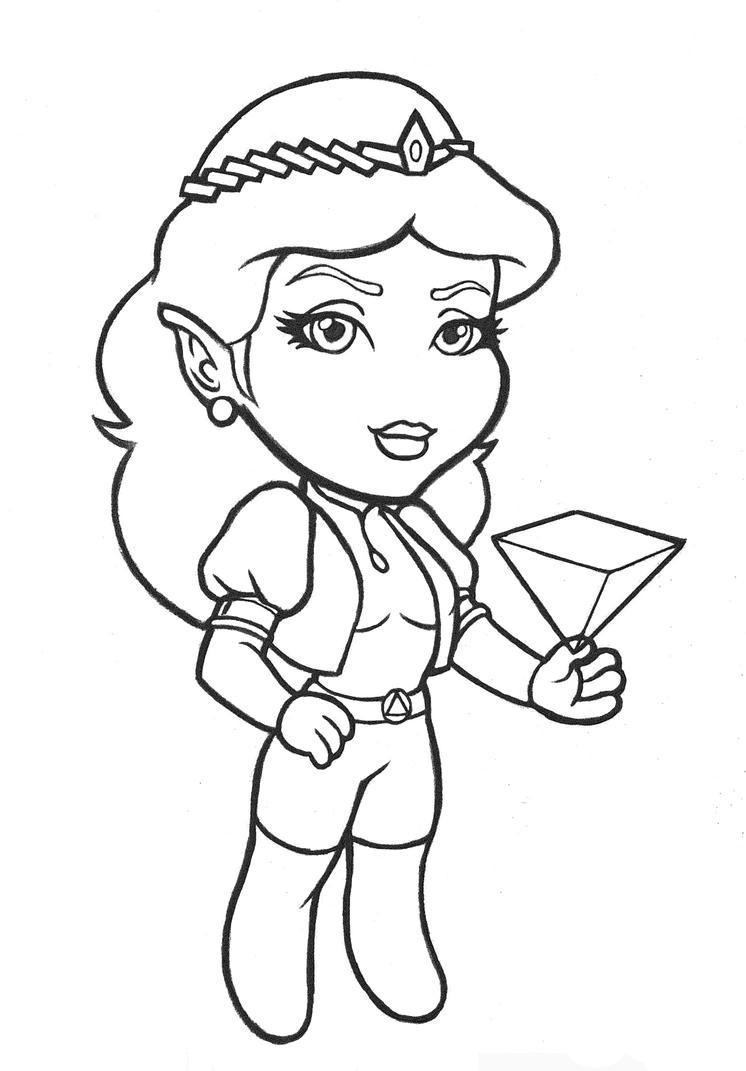 Zelda Chibi by Verbasan