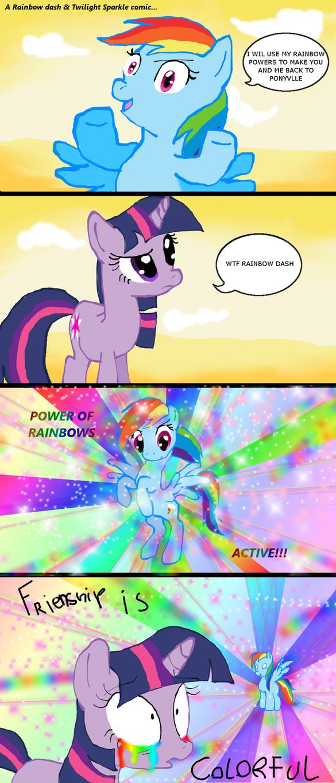 Rainbow Dash's Rainbow Powers by RainbowDashPlz