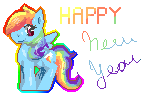 Happy New Year by RainbowDashPlz