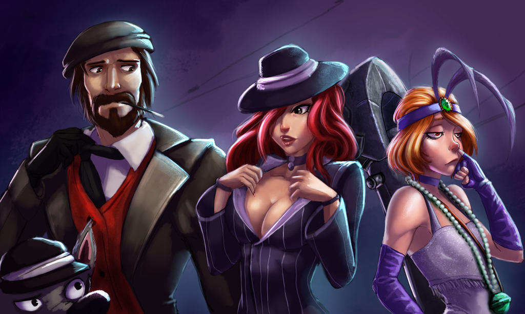 Mafia gang by Raichiyo33