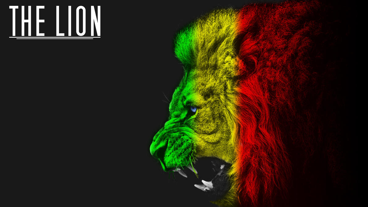 The Lion (Wallpaper) by Th3TwisteD on DeviantArt Rasta Lion Wallpapers