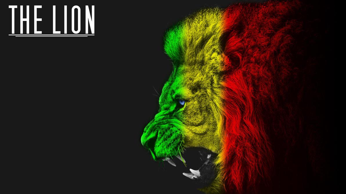 Rasta Lion Hd Wallpaper The Lion  Wallpaper  by